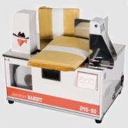 tabletop banding machine, heat seal, bandit